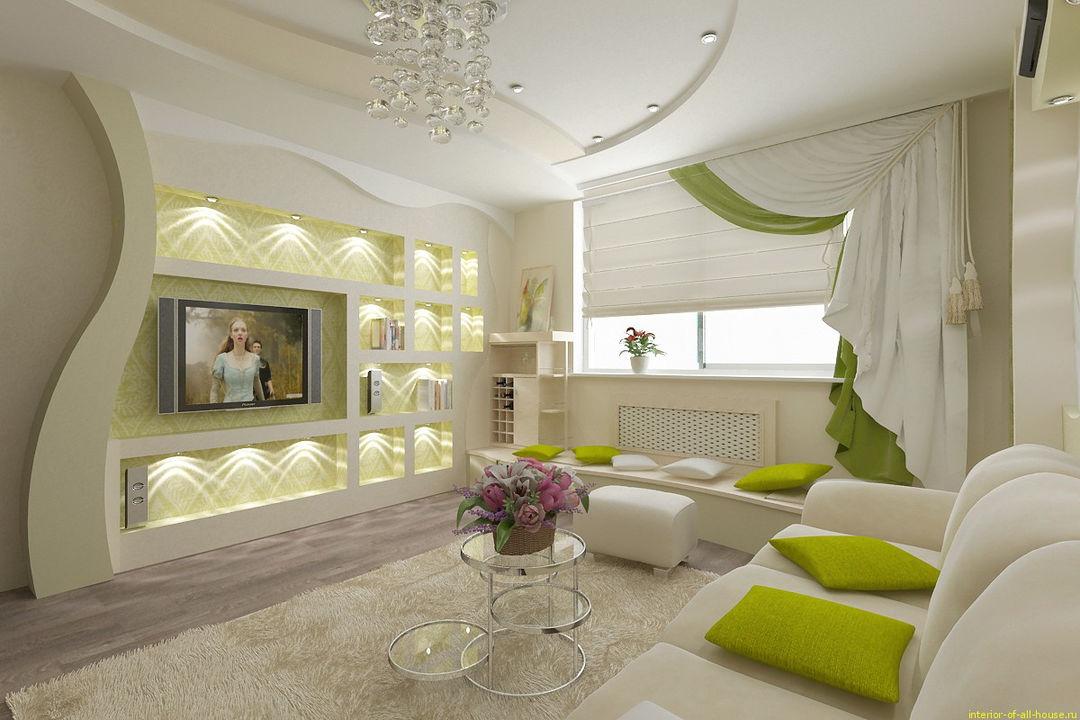 Дизайн зала современные идеи